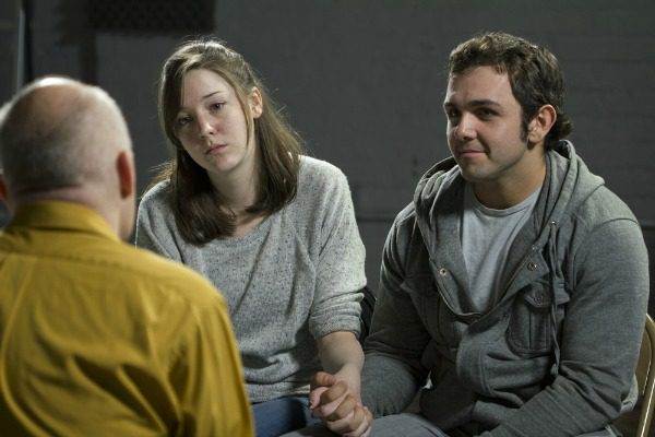 Couple in therapy