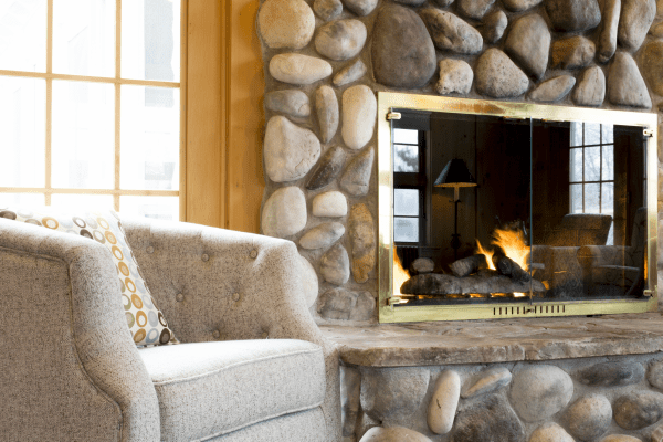 Skywood fireplace