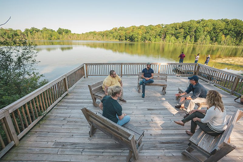 Skywood Outdoor Group Discussion