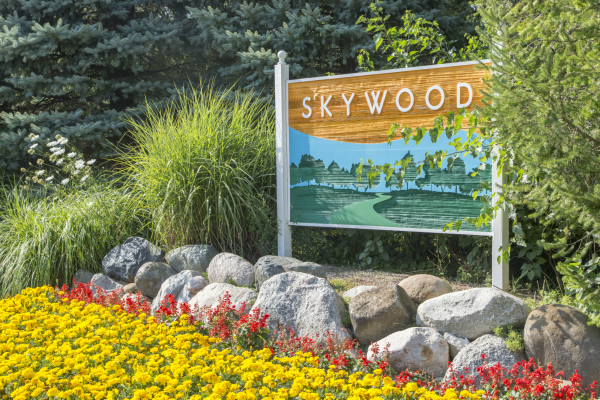 Skywood sign